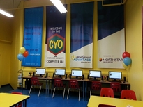 CYO of Mercer County in Trenton Computer Lab AFTER Northstar New Jesey helped with its upgrade. - Ja