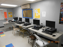 The Computer Lab at the Salvation Army Boys & Girls Club of the Ironbound in Newark, NJ, BEFORE its